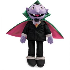 Sesame St Count Von Count Soft Toy