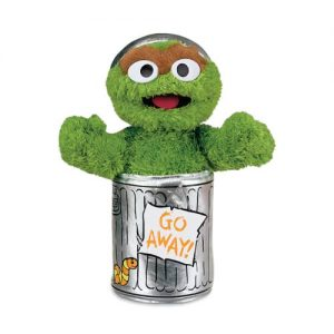Sesame St Oscar The Grouch Soft Toy