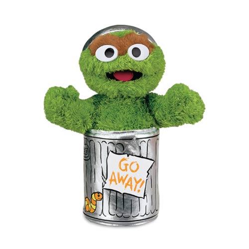 Sesame St Oscar The Grouch Soft Toy