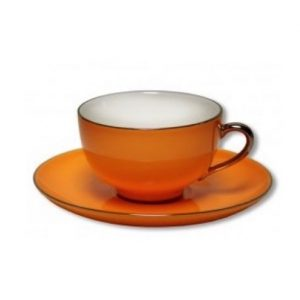 Christiana Lady Sienna Orange Tea Cup Set
