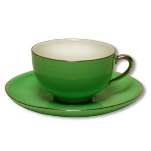 Christiana Lady Sienna Green Tea Cups