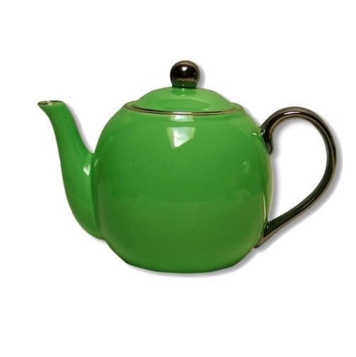 Christiana Lady Sienna Green Teapot