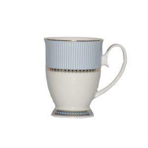 Christiana Miss Alice Blue Pedestal Mug
