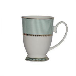 Christiana Miss Alice Green Pedestal Mug