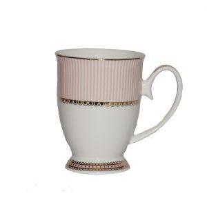 Christiana Miss Alice Pink Pedestal Mug