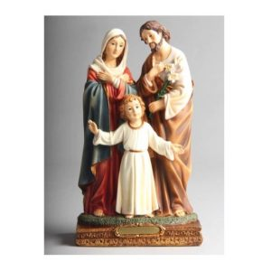 Holy Family Resin Statue 20cm