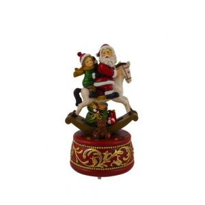 Santa On Horse LED Musical