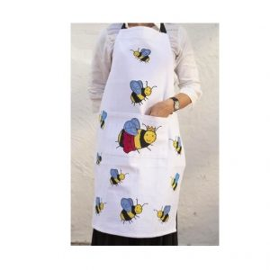 Bumble Bee Cotton Apron