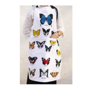 Australian Butterflies Cotton Apron