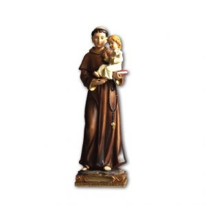 St Anthony Statue 20cm