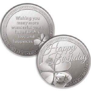 Lucky Coin Happy Birthday