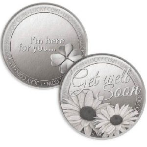Lucky Coin Get Well Soon