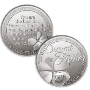 Lucky Coin Dearest Father