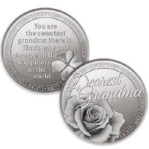 Lucky Coin Dearest Grandma