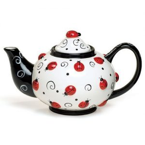 Lady Bug Teapot