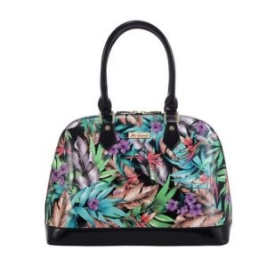 Miss Serenade Faux Leather The Jungle Medium Handbag