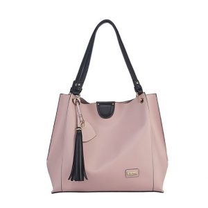 Miss Serenade Jasmine Bag In Bag Tote Pink