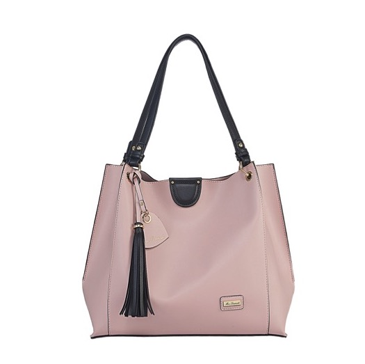 Miss Serenade Jasmine Bag In Bag Tote Pink