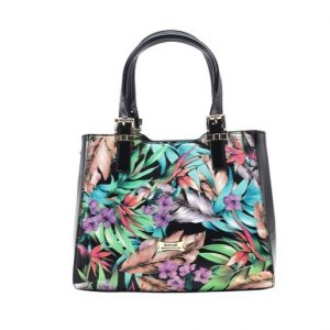 Miss Serenade Faux Leather The Jungle Small Handbag