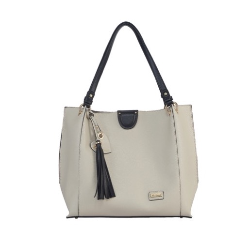 Miss Serenade Jasmine Bag In Bag Tote Taupe