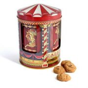 Habitat Small Musical Carousel Biscuit Tin