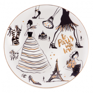 Cristina Re To Paris With Love Platter