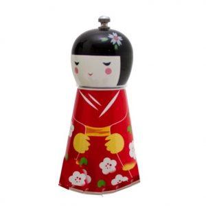 Japanese Doll Pepper Mill 16cm