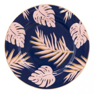 Cristina Re Blue Lagoon Side Plate