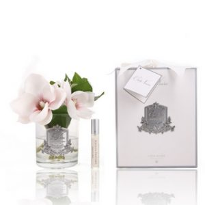 Côte Noire Perfumed Pink Magnolias in Clear Gla