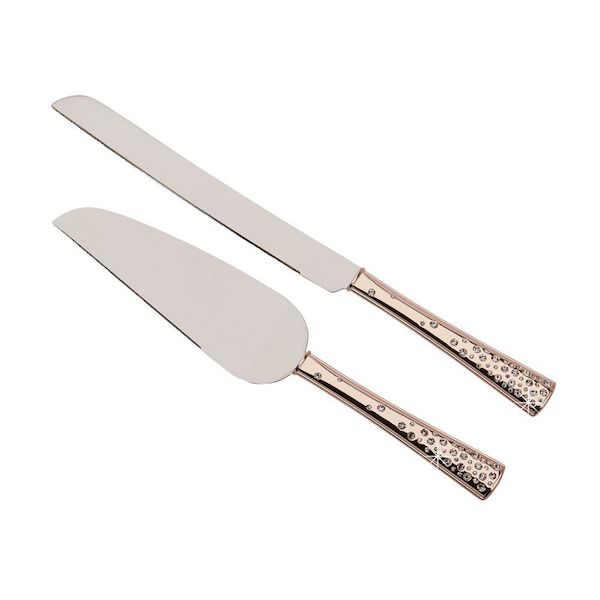 rose gold wedding cake knife and server gold cake knife and server tilly s timeless treasures 19287