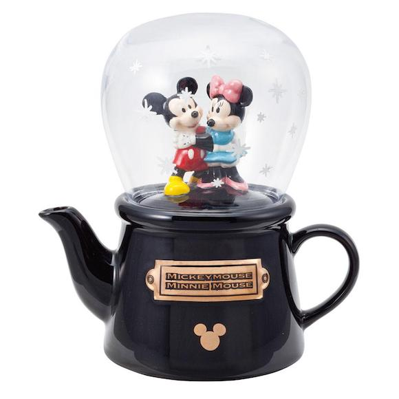 Mickey And Minnie Snowdome Tea For One