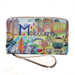 Melbourne Souvenir Wallet RFID Protected