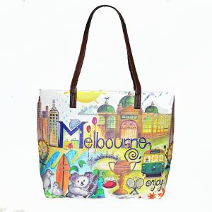 Melbourne Souvenir Tote Bag
