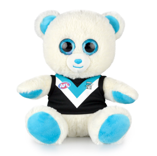 AFL Sparkle Bear Port Adelaide