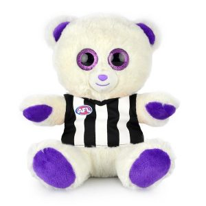 AFL Sparkle Bear Collingwood