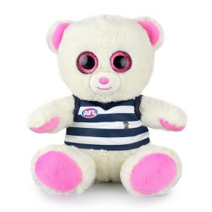 AFL Sparkle Bear Geelong