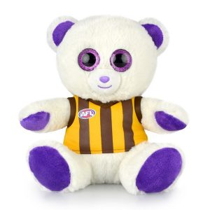 AFL Sparkle Bear Hawthorn