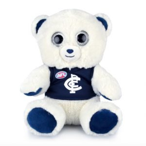 AFL Sparkle Bear Carlton