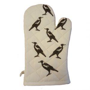 Australian Magpie Oven Glove