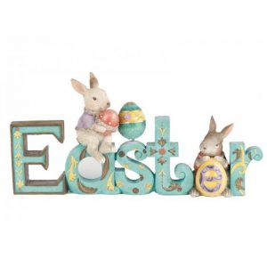 Easter Word Decoration