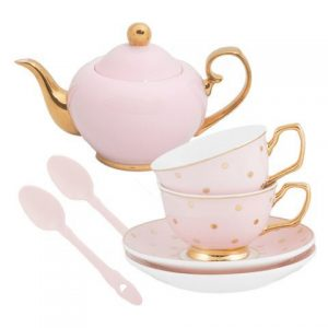 Cristina Re Petite Blush Tea Set 7 Piece