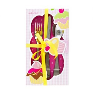 Ambrosia Children's Cutlery Set Girl