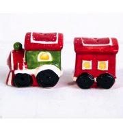 Christmas Train Salt And Pepper Shakers