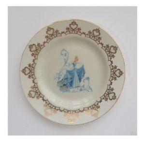 Cinderella 6 Inch Plate