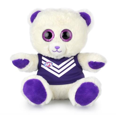 Fremantle AFL Sparkle Bear