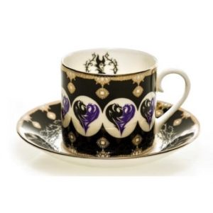 English Ladies Maleficent Tea Set
