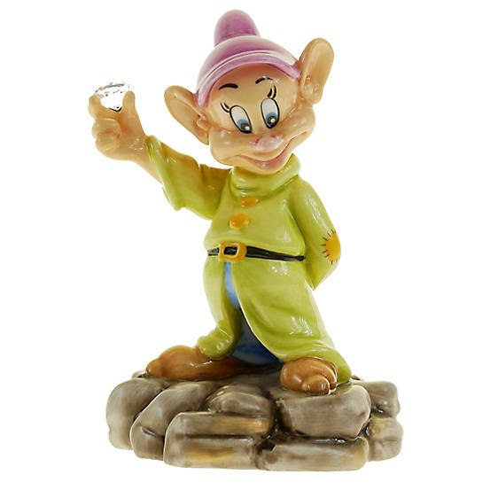 English Ladies Diamond Mine Dopey Statue