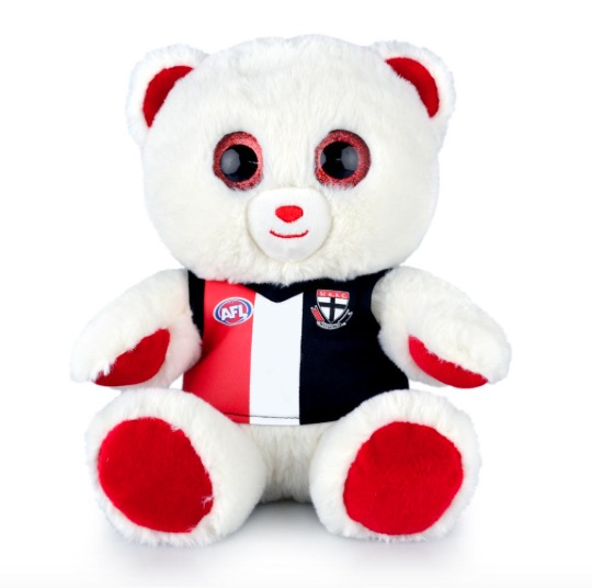 St Kilda AFL Sparkle Bear