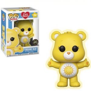Care Bears Funshine Bear Glow Chase Pop Vinyl Figure