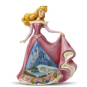 Disney Traditions Aurora Once Upon A Kingdom Castle Dress Figurine